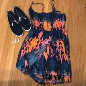Hurley dress Med.  spaghetti straps,short